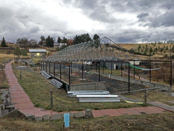 Thomas O  Brown Learning Greenhouse - Palouse-Clearwater